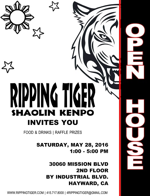 Ripping Tiger Open House